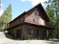 Custom built cabin with two bedrooms, 1.5 baths, 1 car