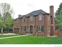 Exquisite custom two story home on a prestigious block