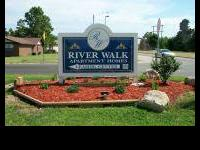 River Walk is a lovely apartment area located along the