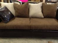 Chickasaw sofa & loveseat. The set is brand new. The