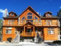 ENTERTAINERS DREAM! Spectacular custom log style home