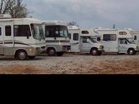 We offer a wide variety of RV Rentals including Class A