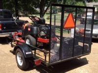 "42"" Toro zero-turn mower, 2 echo trimmers, echo"