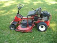 42inch Snapper rear engine Mower. 16hp engine very