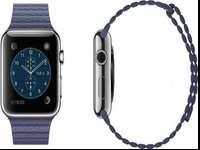 Classic 42mm Blue Leather Loop Apple Watch NIBLarge