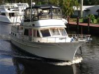 Description AFTER YOU is a 43 ALBIN Sundeck Trawler and