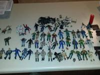 I have 43 G. I. Joe action figures. Some 3or4 may have