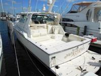 Description Clean example of 43' Tiara Open. Ready to
