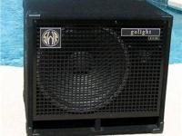 my SWR Golight 1x15 (& horn) Neo Bass Cabinet -
