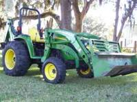 815 hrs. one owner 4 cyl. T diesel 45 hp 400 x loader