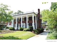 Stately Elegance! This home located in Historic