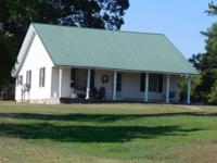 Country home on approx. 45 acres, 2 bedrooms, 1 bath,