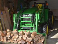 2010 John Deere large frame compact tractor,43