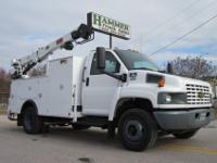 GMC C5500 Service/Lube/Crane for Sale, 2005, Duramax