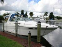 2001 Sea Ray 290 Sundancer - repowered in 2007 with