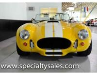 This 2003 AC Cobra replica (Stock # B1706) is available