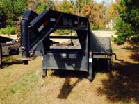 44ft trailer Dual Axle 2-12,000lb axles. 8 ft Ramps