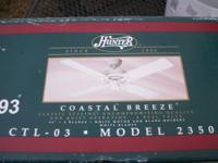 "44""Hunter Ceiling Fan : Coastal Breeze Model # 23506"