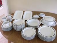 I have a 44 piece Danske Dinnerware set. Includes 8