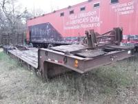44' tri axle step deck, drop deck, low boy equipment