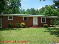 JACKSONVILLE NICE 3 BEDROOM 1 BATH HOME ON 7.50+/-