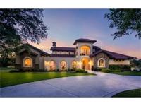 "Exquisite ""Texas Tuscan"" style estate on 6.5 acres."
