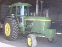4430 John Deere tractor for sale. Tractor has recent