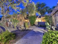 Nestled near the base of Camelback Mt in a guard gated,