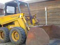 I have a 445 Mustang skid loader for sale. It has a