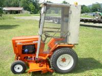 A very nice 1986 Case Ingersol 446 tractor, with a 50 ""