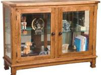 The Sunny Designs Furniture 20503RO Console Curio