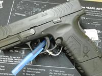 "USED SPRINGFIELD XDM 9 COMPACT WITH 3.8"" BARREL ALSO"