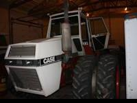 For sale is a 4490 case four wheel drive tractor. It