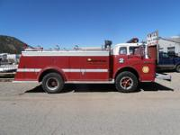 4494 1970 FORD BIG RED, FIRE TRUCK 2700.00 In Stock