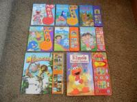 Several children's books, some like new, a couple