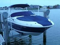 2007 Sea Ray 240 SUNDECK LOW LOW HOURS, ON A LIFT AND