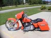 2012 Custom Harley Davidson Street Glide for sale. Bike