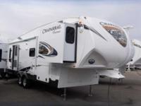 2013 COACHMEN CHAPARRAL 27' , WHT/FALL RIVER, Hitch