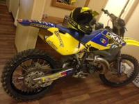 2002 CR250 HUSQVARNA NEW PIPES,.45, weapons, trade,