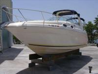 2004 Sea Ray 260 SUNDANCER Exceptional condition with