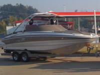 2008 CROWNLINE 252 EX, 26, Crownline's new 252 EX takes