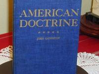 American Doctrine By John Landston I have for sale