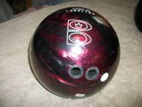 Brunswick 11 1/2 Lb. Sting Zone Black Pearl /Red Pearl