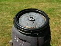 This is a wonderful Compost Tumbler. I am not using it