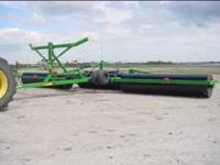 45' Summers Mfg. Land Roller for Rent. Improve your