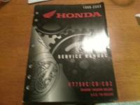 Selling a service manual for Honda Shadow / Shadow