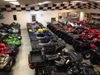 Great selection of pre-owned ATV 's and UTV 's in stock