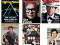 I am selling the following Rolling Stone Magazines. All