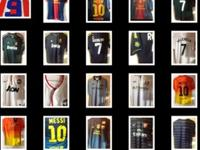 We have a collection of Eurpoeen Soccer Jerseys. Either