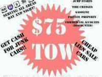 CALL FOR SERVICES!!   *** 45.00 TOW w/ REPAIRS!  T-Rex